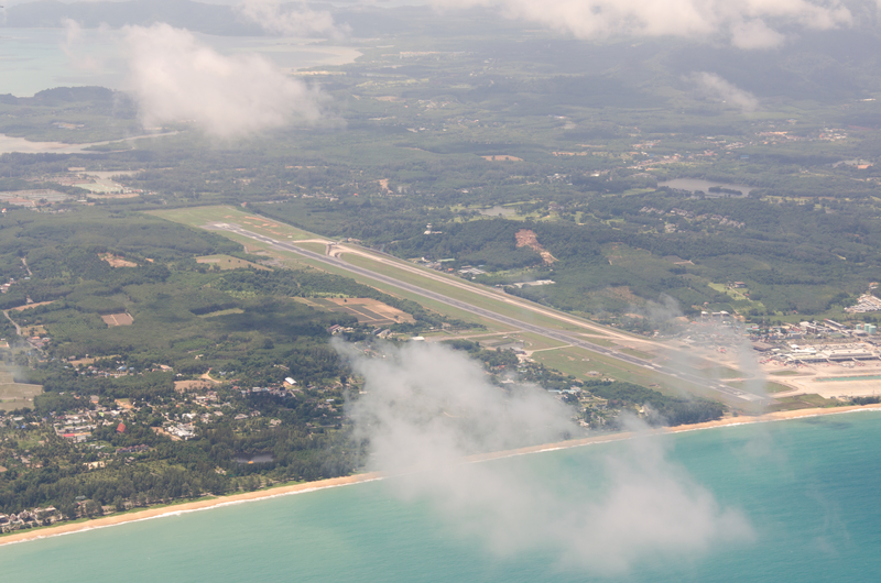 Phuket Airport is located 32 km from Phuket city centre.